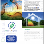 ORDER & PROGRESS (energie rinnovabili)