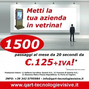 """Q-ART. DEM Campagna """"Metti la tua azienda in vetrina"""" (Dicembre 2012)"""
