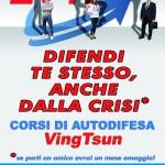 Palestra FIGHT CLUB Quartu S. Elena. Flyer A5 - Corsi EVTF(fronte) (Novembre 2012)