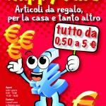 HAPPY EURO (Quartu S. Elena). Flyer A5 (fronte) (Dicembre 2012)