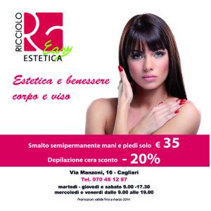 Ricciolo Easy - ADV per Magazine La Città in Tasca e per TOTEM