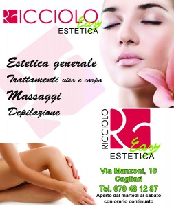 RICCIOLO EASY ESTETICA. Spot n.1 per TOTEM (Febbraio 2013)
