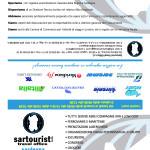 Sartourist - Portabiglietti pieghevole formato A4